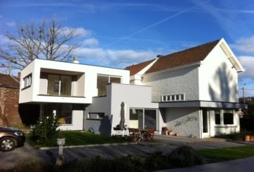 Extension d'une maison d'habitation à Chaudfontaine