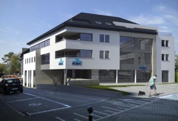 Construction de logements collectifs avec une surface commerciale à St-Vith