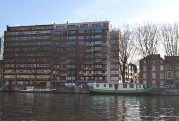 Construction d'un immeuble de 58 appartements à Liège