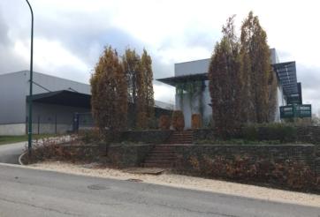 Construction d'un hall d'entreposage et de bureaux à Dison