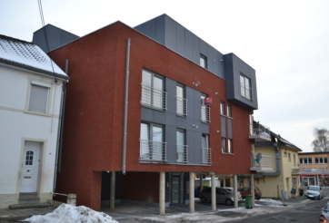 Construction d'une immeuble à appartements à Lontzen