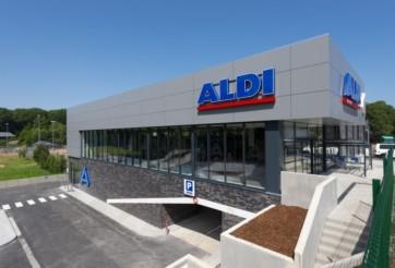Reconstruction du Supermarché ALDI à Vielsalm