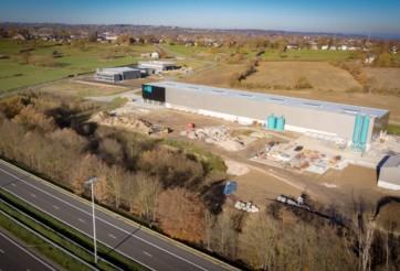 Construction d'une usine de production d'éléments en béton préfabriqués à Welkenraedt