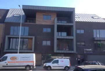 Construction d'un immeuble appartements à Rocourt